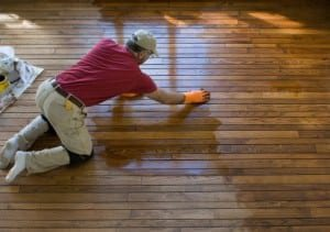 Sanding of Custom Wood Floors- Dust Control Wood Refinishing in Montgomery County MD & Fairfax VA